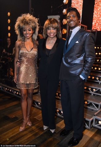 Tina The Musical - Press Night (Adrianne Warren, Tina Turner, Kobna Holdbrook-Smith)